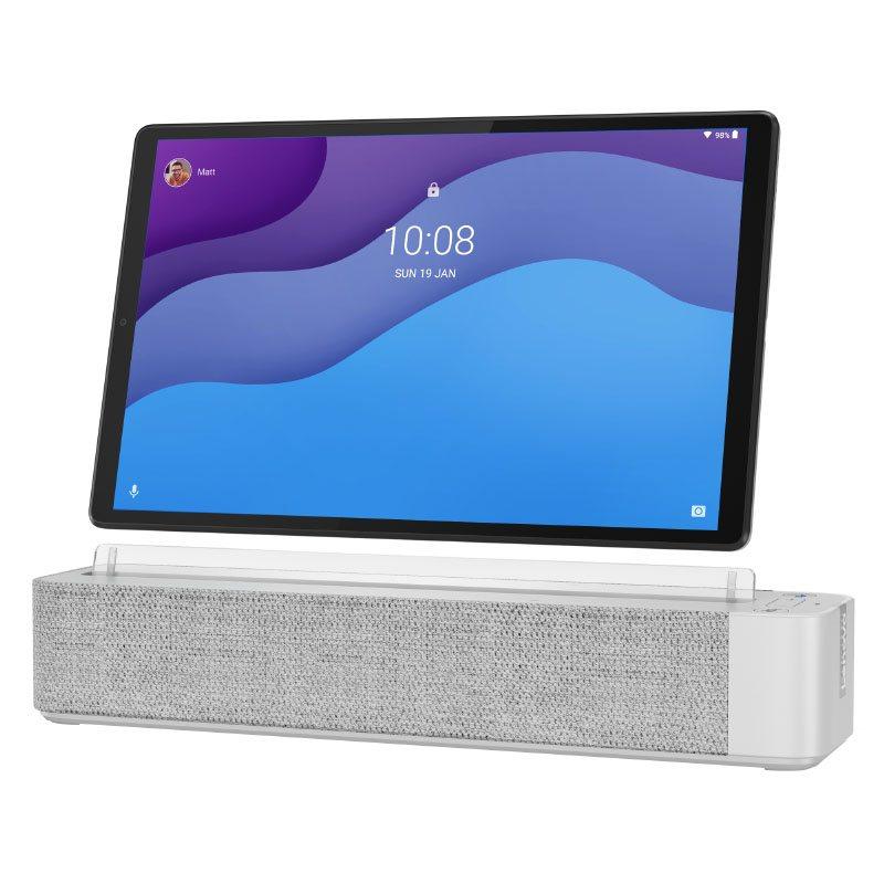 Tablette 10,3 Lenovo Smart Tab M10+ 64go+ Base Avec Google Assistant
