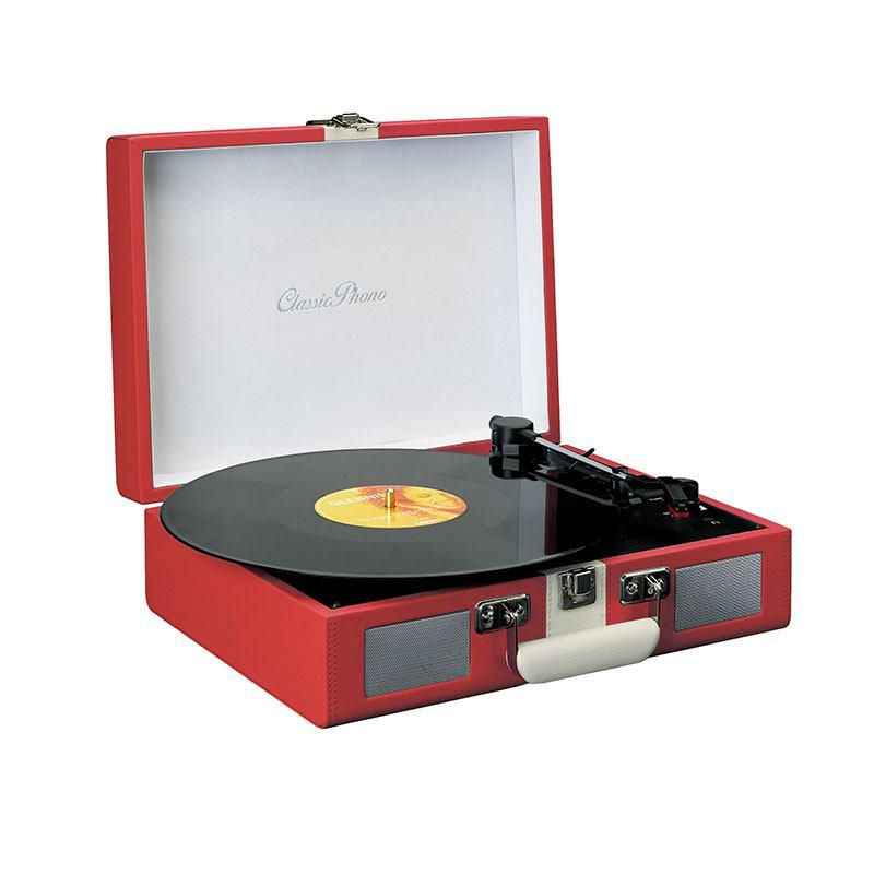 Platine Vinyle Lenco Tt110 Rouge/blanc