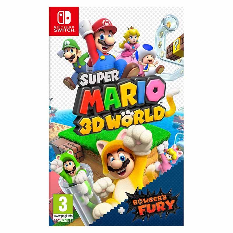 Jeu Vidéo Nintendo Super Mario 3d World