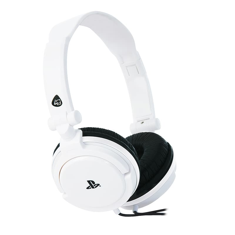 Casque Micro Ps4 4 Gamers Pro4-10 Blanc