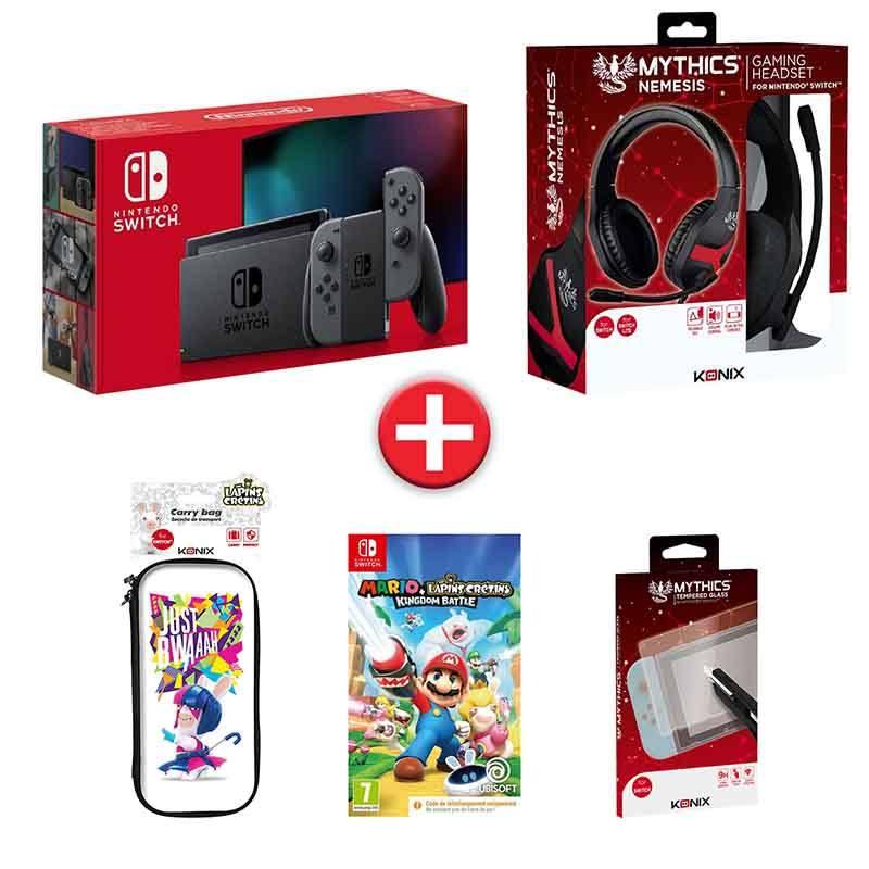 Console Nintendo Switch + Jeu Et Accessoires (photo)