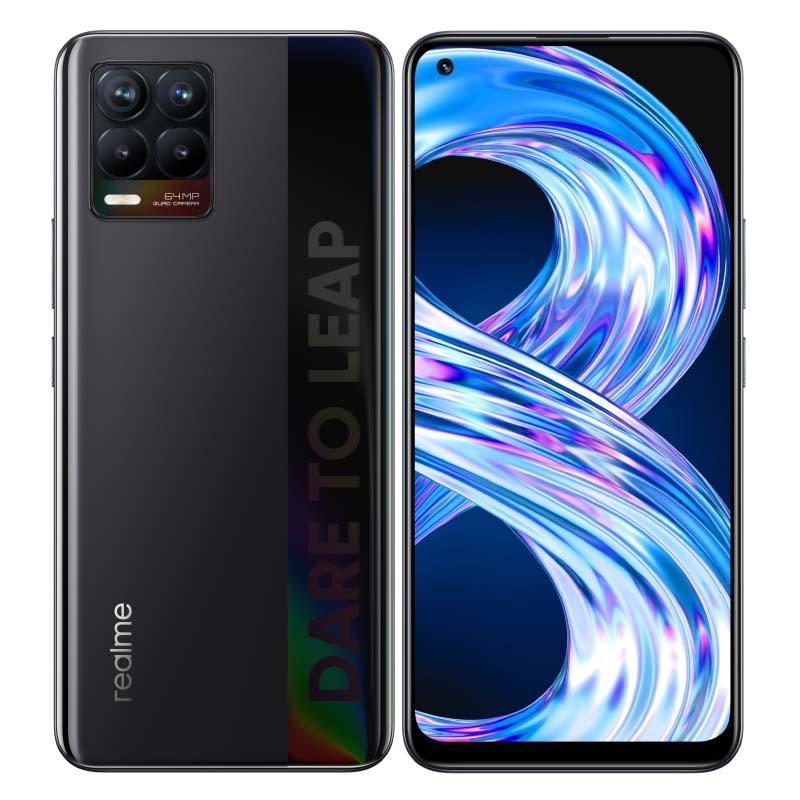 Smartphone Realme 8 64go Cyber Noir