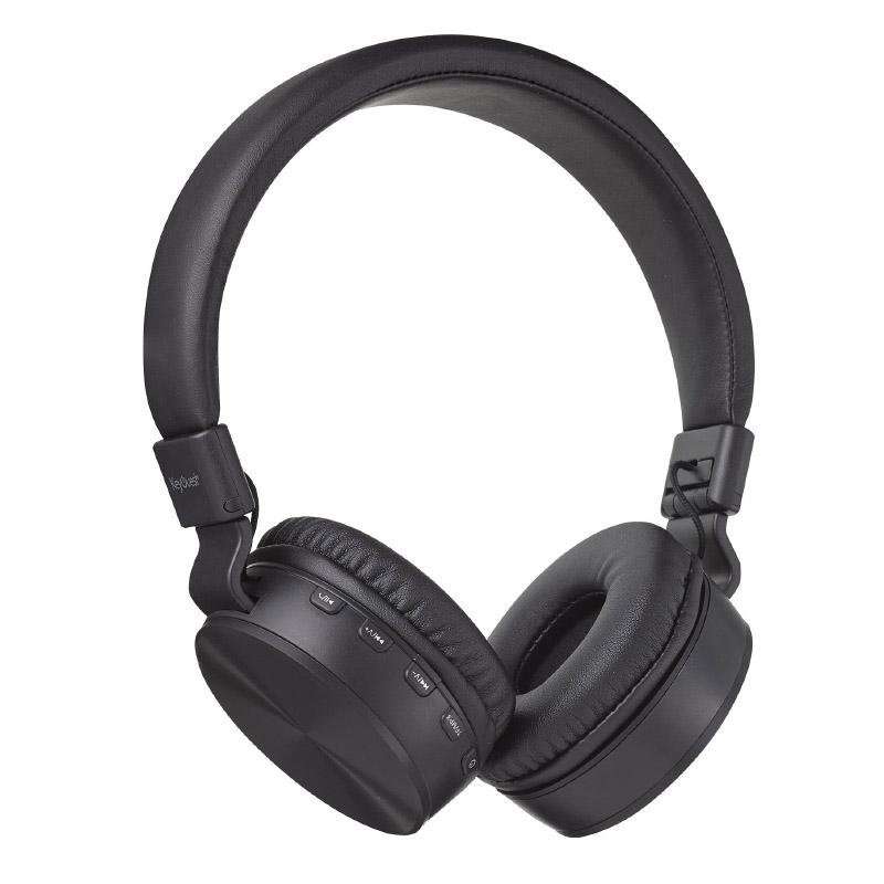 Casque Bluetooth Keyouest Vinyle Noir