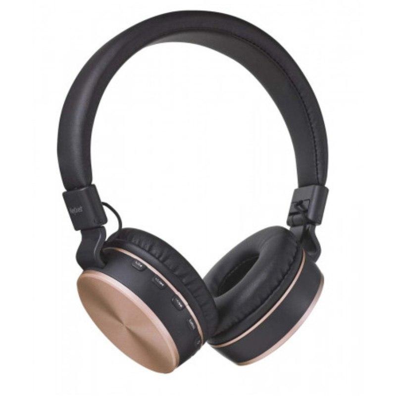 Casque Bluetooth Keyouest Vinyl Noir Et Cuivre