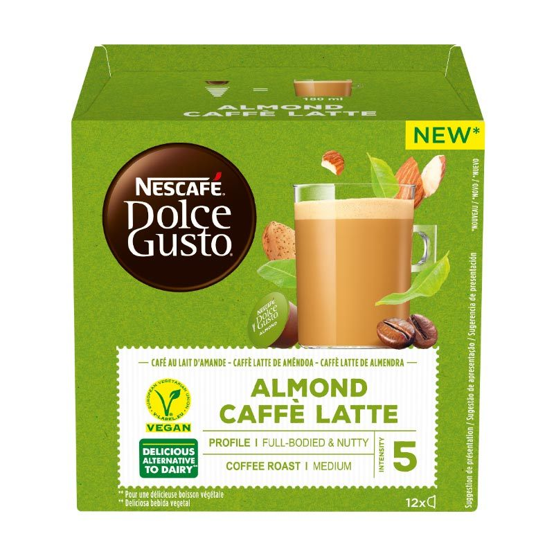Dosettes Café Dolce Gusto Caffee Lattee Almond