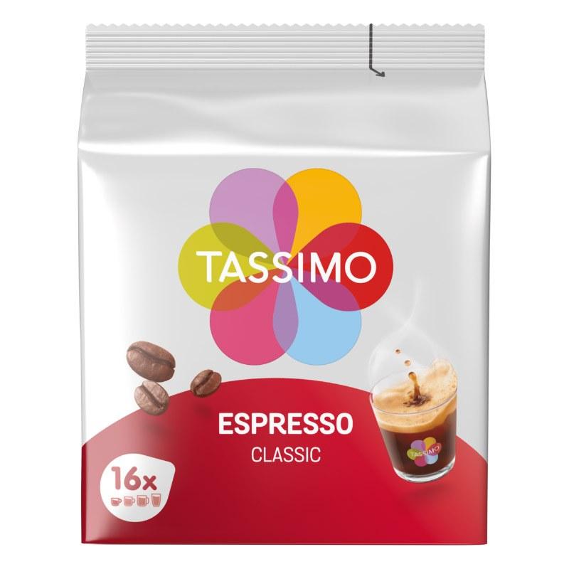 Dosettes Café Tassimo X16 Expresso Classique