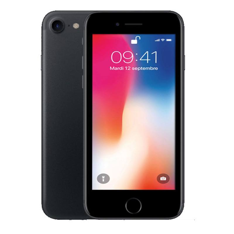 Apple Iphone 7 32 Go Black Reconditionné Grade Eco + Coque