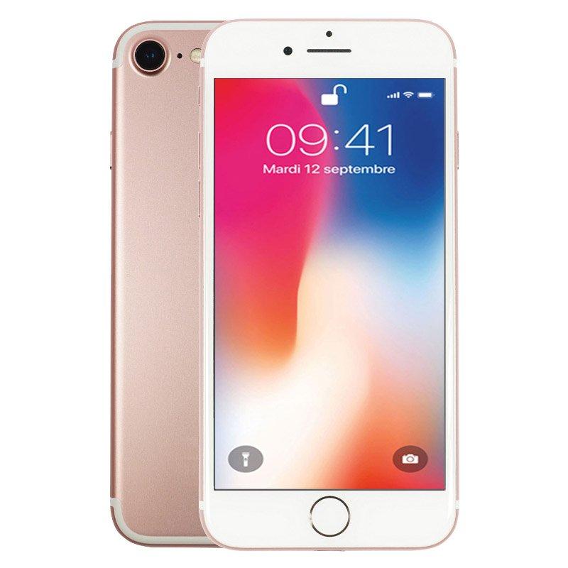 Apple Iphone 7 32 Go Rose Reconditionné Grade Eco + Coque