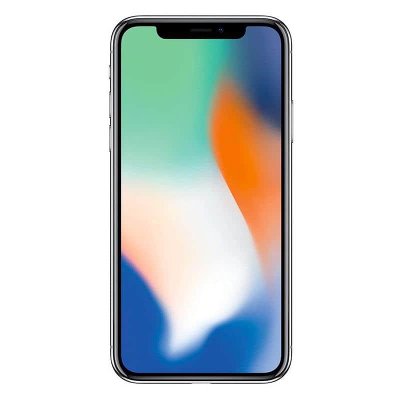 Apple Iphone X 64 Go Silver Reconditionne Grade Eco + Coque