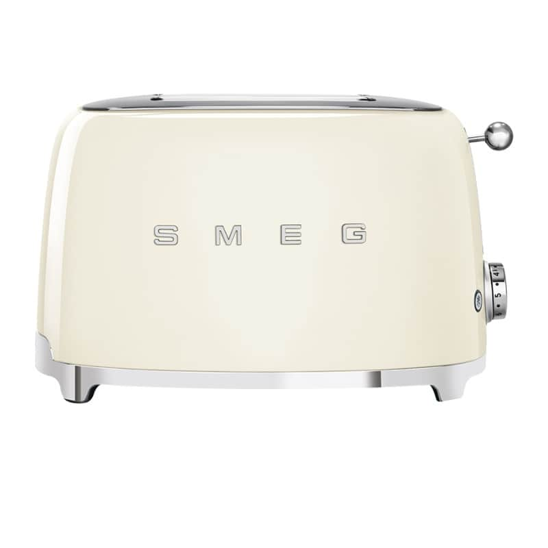 Grille-pain Double Smeg Tsf01creu Créme
