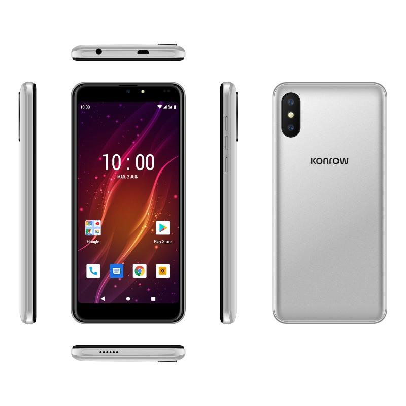 Smartphone Konrow Sweet 55 8go Argent