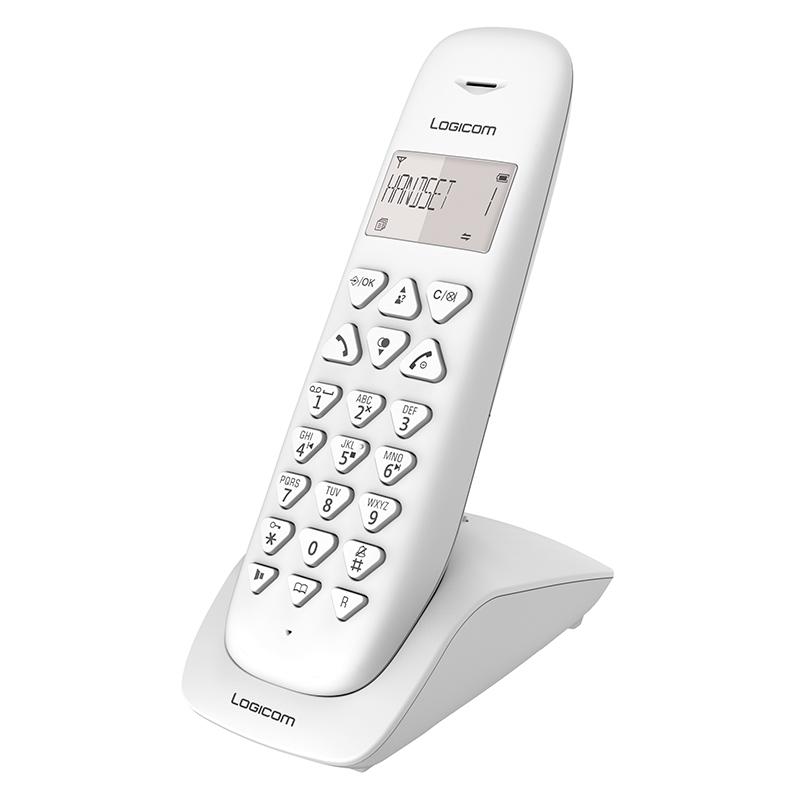 Téléphone Solo Avec Répondeur Logicom Vega155t