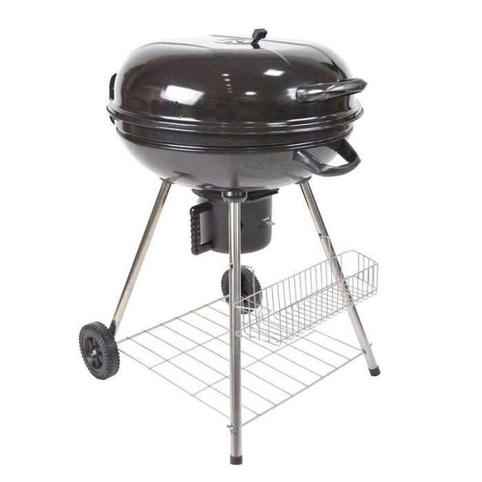Barbecue charbon COSYLIFE CL 57 ROND 57CM avec roulettes