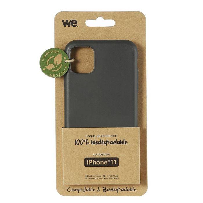 Coque WE iPhone 11 Noir BIODEGRADABLE