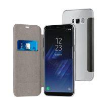 Folio Case TECHYO avec dos transparent SAMSUNG Galaxy S8