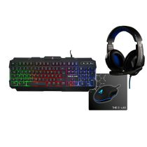 Pack Gaming THE G-LAB 4en1 Rhodium-E