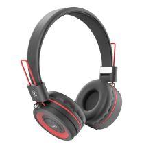 Casque RYGHT Bluetooth POP Rouge/Noir