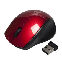 Souris sans fil mini APM rouge