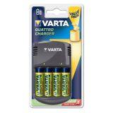 Chargeur VARTA + 4 Accus Varta
