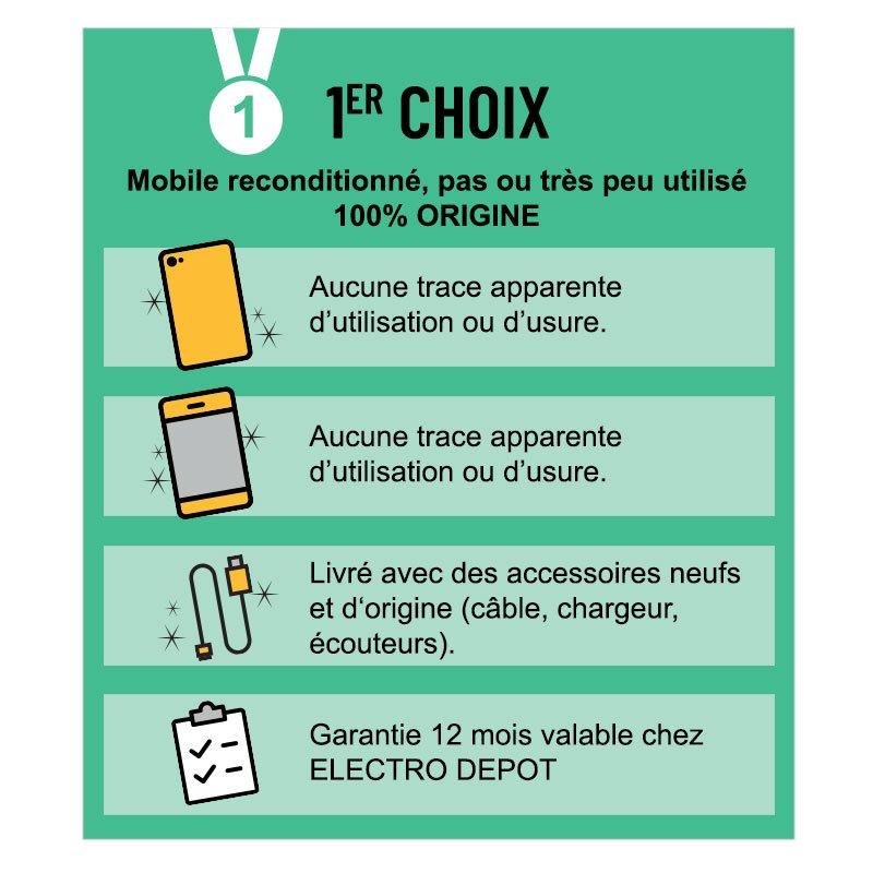 1ER CHOIX - SMARTPHONE GALAXY S10 128GO BLANC (photo)