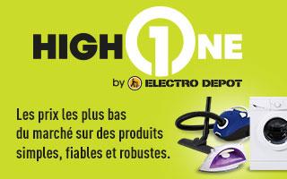 High one electro d p t - Tv paiement plusieurs fois ...