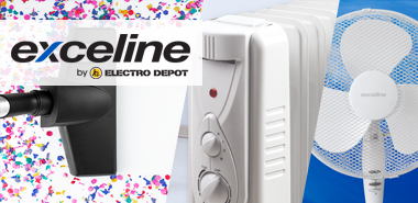 Découvrir la marque by Electro Depot : exceline