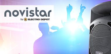 Découvrir la marque by Electro Depot : Novistar