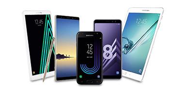 SAMSUNG SMARTPHONES / TABLETTES