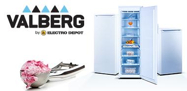 Découvrir la marque by Electro Depot : valberg