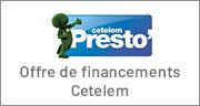 Offre de financements Cetelem