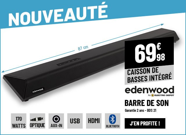 Barre de son EDENWOOD BDS 21