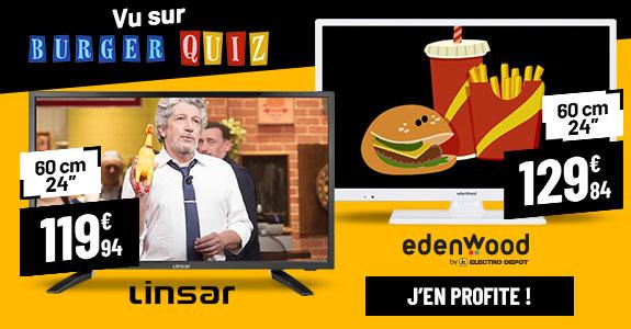 Les TV vues dans Burger Quiz