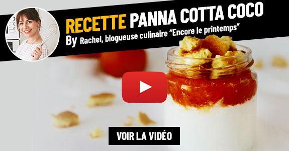 Recette Panna Cotta by Rachel