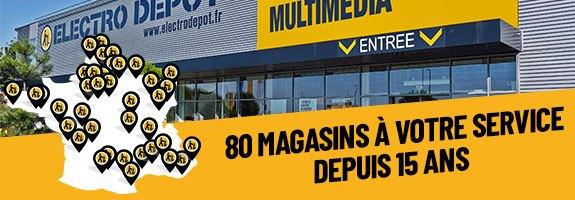 80 magasins en France