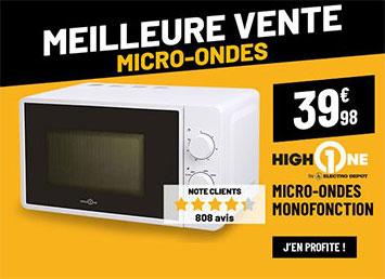 Micro-ondes HIGH ONE HO-MO5