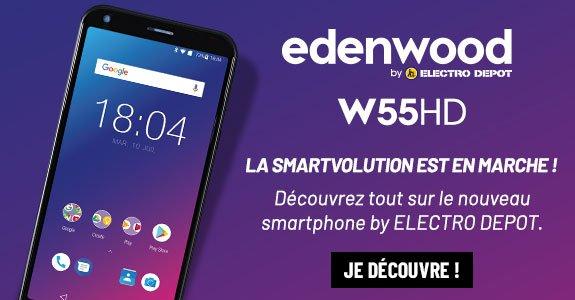 Le nouveau smartphone Edenwood