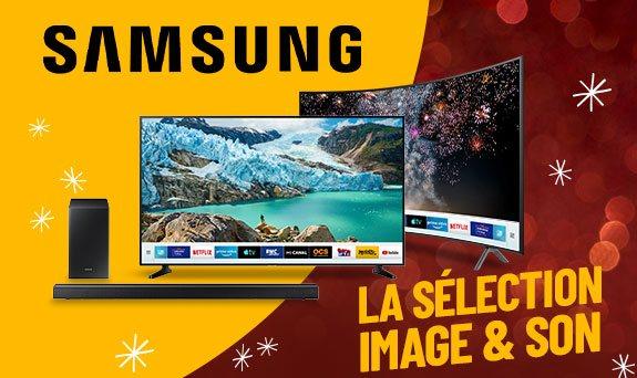 Samsung : TV Image et Son