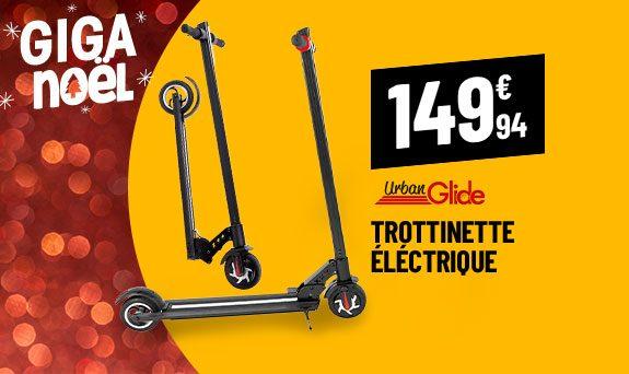 Trottinette électrique 6'' URBANGLIDE 69L