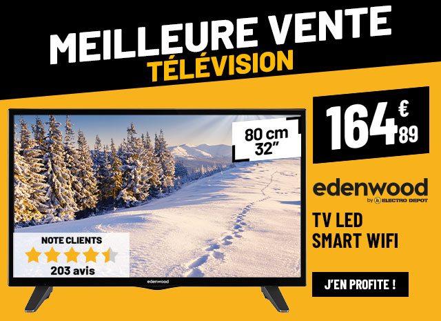 TV LED EDENWOOD ED32A01HD-VE Smart Wifi
