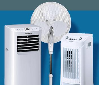 Tous les ventilateurs et climatiseurs !
