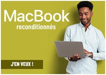 MacBook reconditionnés !