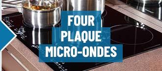 Four, plaque, micro-ondes