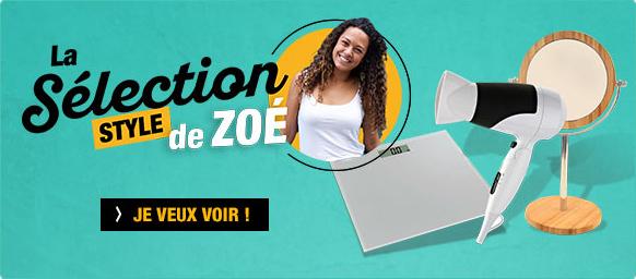 La sélection style de Zoé