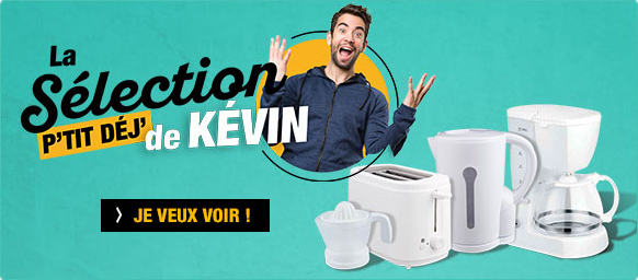 La sélection p'tit déj de Kevin