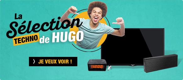 La sélection techno de Hugo