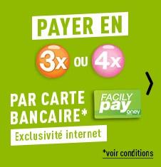Payez en plusieurs fois avec Facily pay!