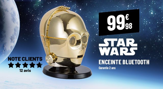 enceinte star wars