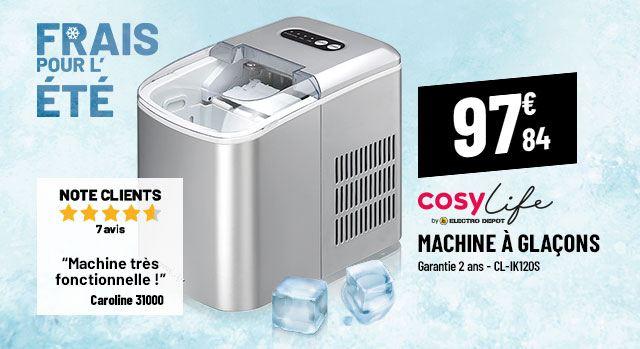 Machine à glaçons COSYLIFE CL-IK120S
