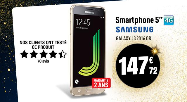 Smartphone SAMSUNG GALAXY J3 2016 or