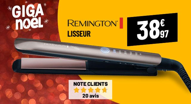 Lisseur REMINGTON S8590 Keratin Therapy